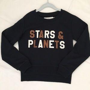 H&M Stars and Planets Sweatshirt